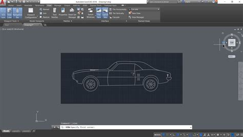 new layout viewport autocad 2018 1 new feature named view and viewport creation