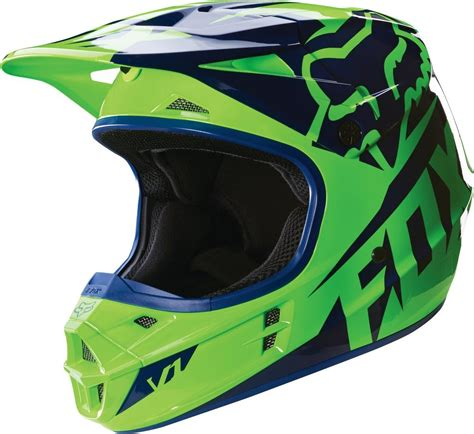 fox helmets 169 95 fox racing v1 race dot helmet 234762