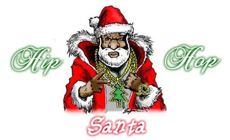 hip hop santa christmas rap music