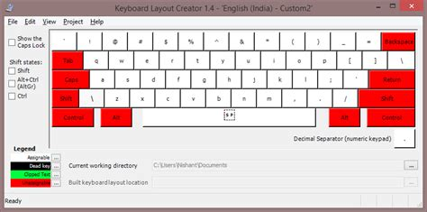 keyboard layout toggle windows 7 type special characters directly