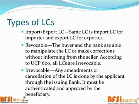 Letter Of Credit Amendment Meaning Trade Finance Letter Of Credit