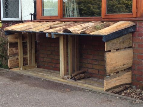 build wood shed  reclaimed materials