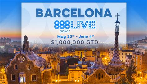 888poker makes the news with its live and online 888poker live festival heads to barcelona in may