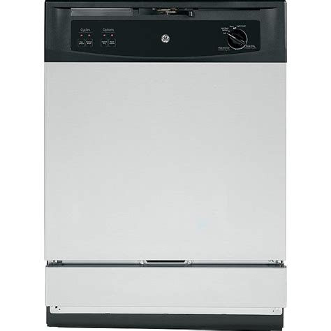 in sink dishwasher ge appliances gsm2260vss 24 quot the sink built in