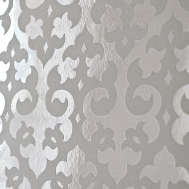 Black And White Damask Bathroom Accessories - gothic flock foil wallpaper white 0 00 brocade home