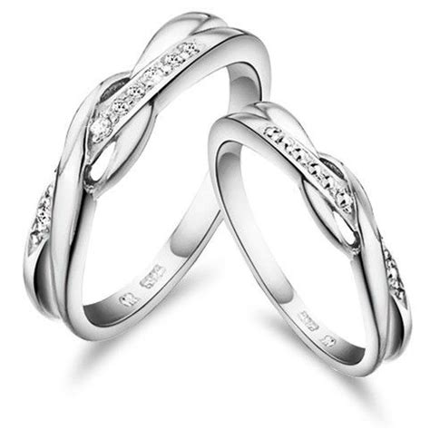 wedding rings set buy online buy online unique couple wedding rings set 925 sterling