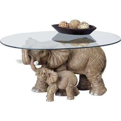 Elephant Glass Coffee Table Elephant Coffee Table Elephants Are Sweet Pinterest
