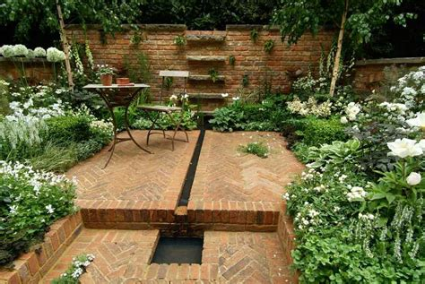 Small Square Garden Ideas Brownstone Garden Design Todd Haiman Landscape Design