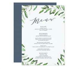 menu invitation template 9 garden menu designs templates free premium