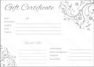 Best 25 Blank Gift Certificate Ideas On Pinterest Free Certificate Templates Printable Gift Blank Gift Certificate Template Free