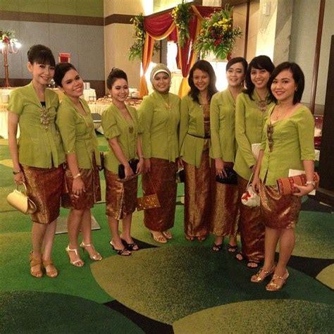Baju Bridesmaid Jakarta 406 best images about kebaya indonesia on