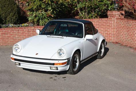 1986 porsche targa interior 1986 porsche 911 targa white with black interior