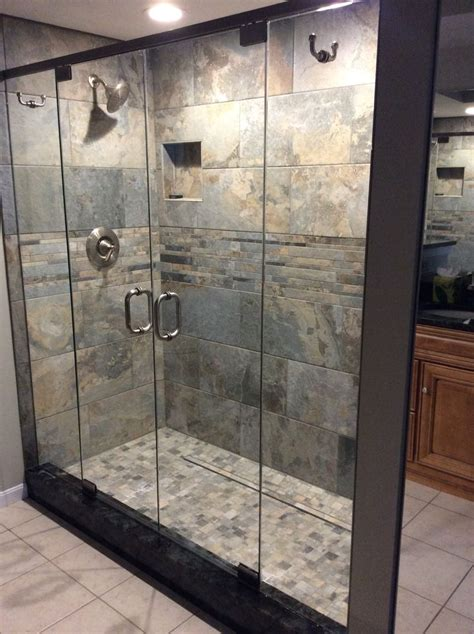 swing open shower doors 1000 images about frameless glass shower doors