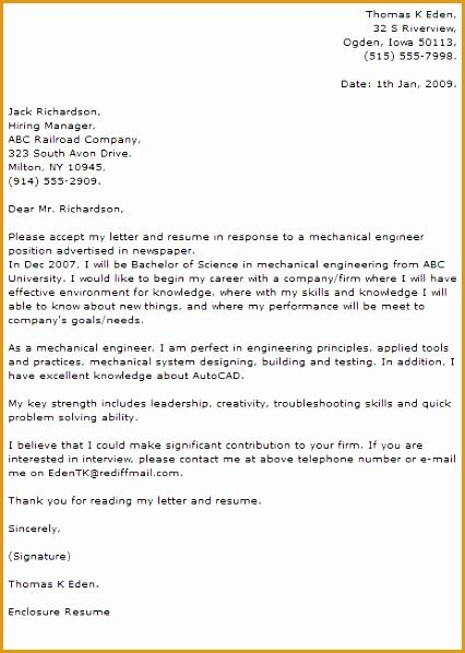 cover letter for design engineer mechanical 6 mechanical engineer cover letter exle free sles