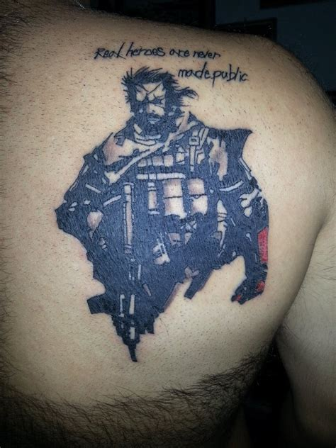 metal gear solid tattoo the gallery for gt metal gear solid designs