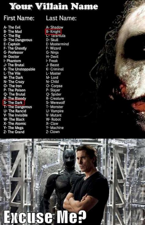 Memes Names - the best movie villain compilation 21 pics
