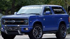 ford all new cars 2019 ford bronco concept reviews specs interior
