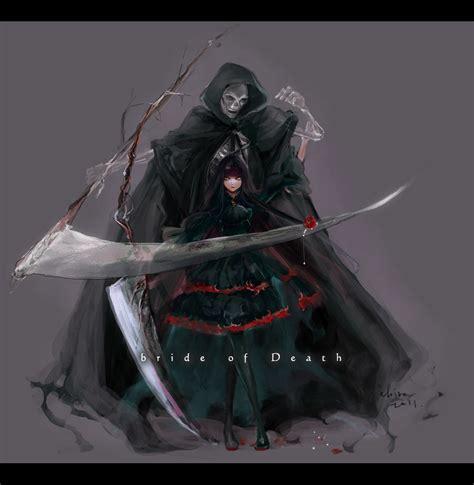 wallpaper anime grim reaper grim reaper zerochan anime image board