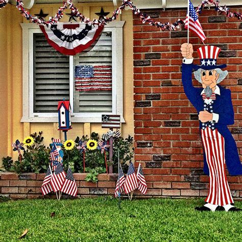 4th of july backyard decorations 30 homemade diy 4th of july decorations decor craft ideas inspiration for 2016