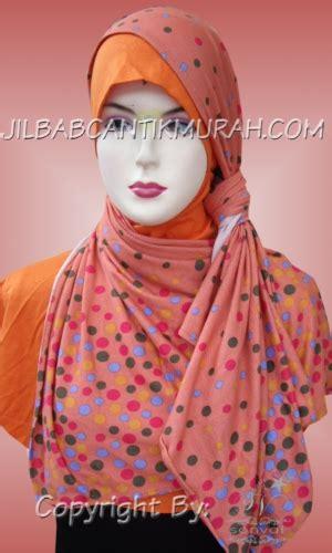 Pashmina Hs Dot By Umama jual jilbab murah baju gamis syari dan kerudung