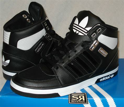 adidas originals mens hard court   black white