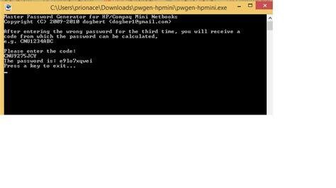 reset bios hp mini re hp compaq mini 110 bios password reset page 113 hp