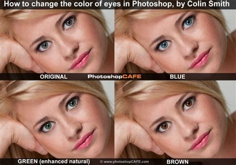 how to change eye color in photoshop change the color of in photoshop tutorial