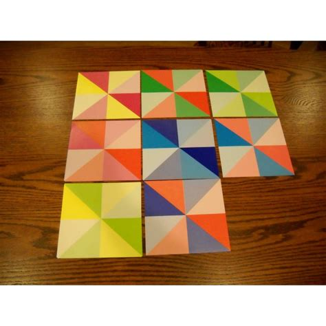 Origami Paper Thickness - origami paper prism pattern 150 mm 48 sheets bulk