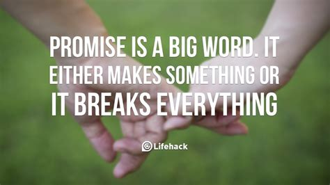Quotes On Keeping Promises