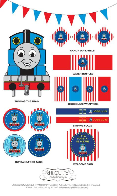 printable thomas stickers 17 best images about thomas the train theme birthday party