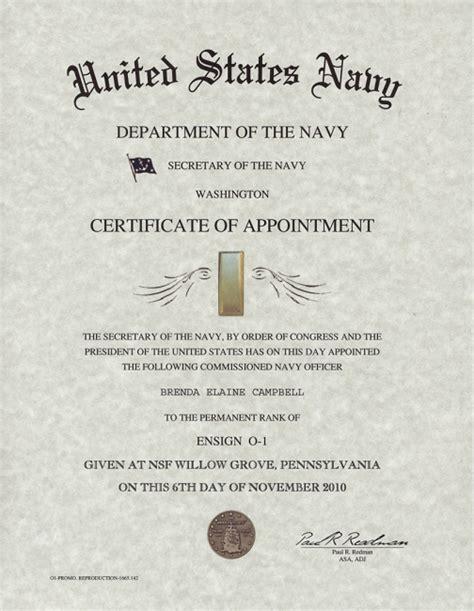certification letter for promotion navy officer promotion certificate