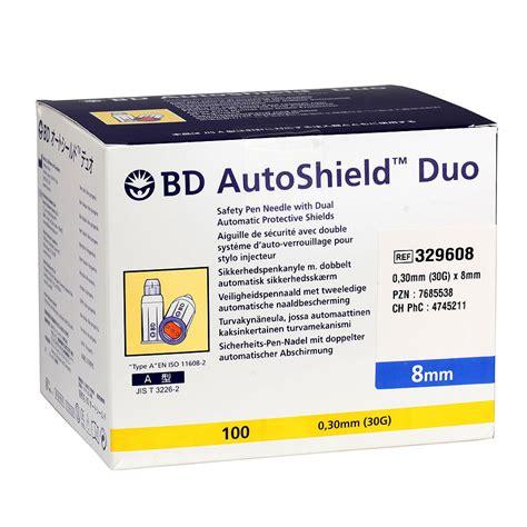 bd benutzung bd autoshield duo 0 30 x 8 mm 30g sicherheits