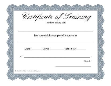 best photos of certificate of training form free