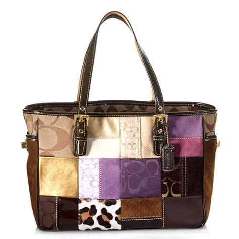 Patchwork Coach Bag - coach patchwork gallery tote