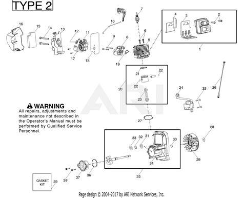 poulan bvmvs gas blower type  parts diagram  engine type