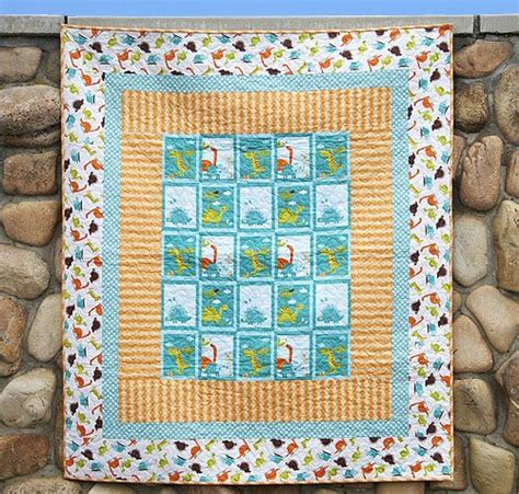 Dinosaur Quilt Patterns For Free by Free Quilt Pattern Featuring Dinosaur By Rbd Designers For