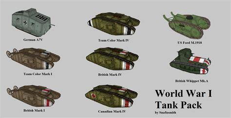 Civ5: WW1 Tank Pack (8 Tanks) | CivFanatics Forums