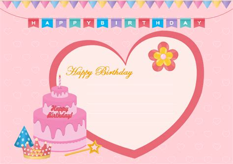 free birthday template birthday ecard free birthday ecard templates
