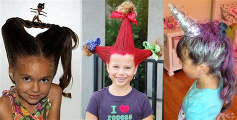 hairstyles to do for crazy hairstyles for kids top crazy most crazy creative and weird hairstyles for everyone