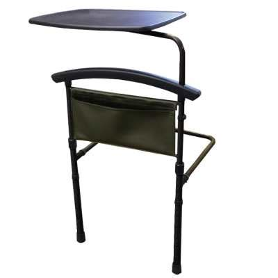 swing away table independence bed table by stander swing away bed table