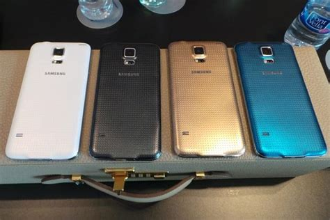 samsung galaxy s5 colors on with the samsung galaxy s5 slide 16 slideshow