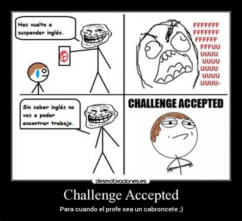 Challenge Accepted Meme Generator - challenge accepted cake ideas and designs