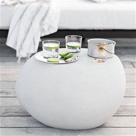 pebble outdoor coffee table versatile pebble side table