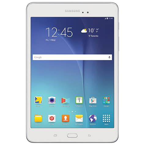 android 5 0 tablet samsung galaxy tab a 8 quot 16gb android 5 0 lollipop tablet white android tablets best buy canada