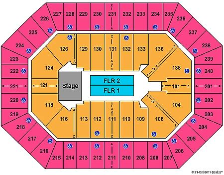 Toyota Center Seating Chart Concert 301 Moved Permanently