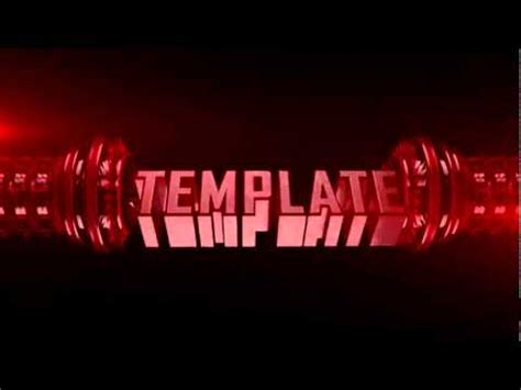 Free Awesome Cinema 4d Intro Template C4d File Youtube Cinema 4d Intro Templates Free