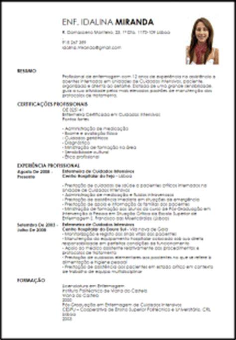 Modelo Curriculum Hospital Modelo Curriculum Vitae Enfermeira Certificada Em Cuidados Intensivos Livecareer