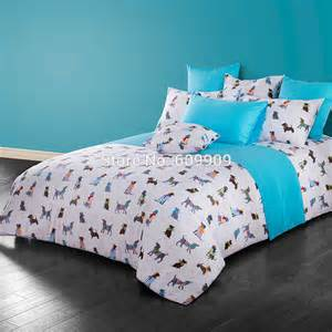Queen Comforters Sets Shop Popular Dog Print Bedding From China Aliexpress
