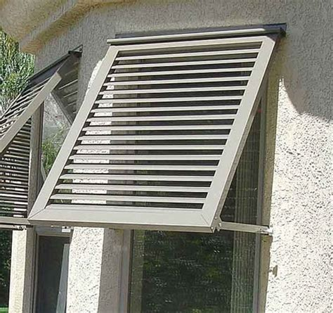 image gallery shutter awnings