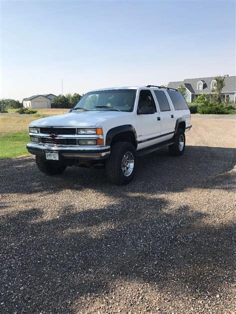 loaded 1996 chevrolet suburban lt for sale